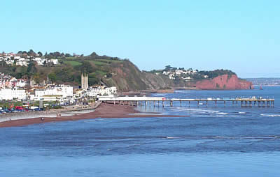 Teign Court Holiday Flats On The Seafront In Teignmouth Devon
